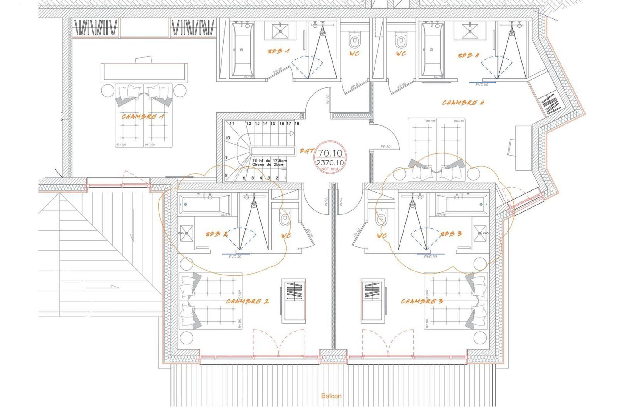 Chalet Golden Jubilee St-Martin-de-Belleville Floor Plan 2