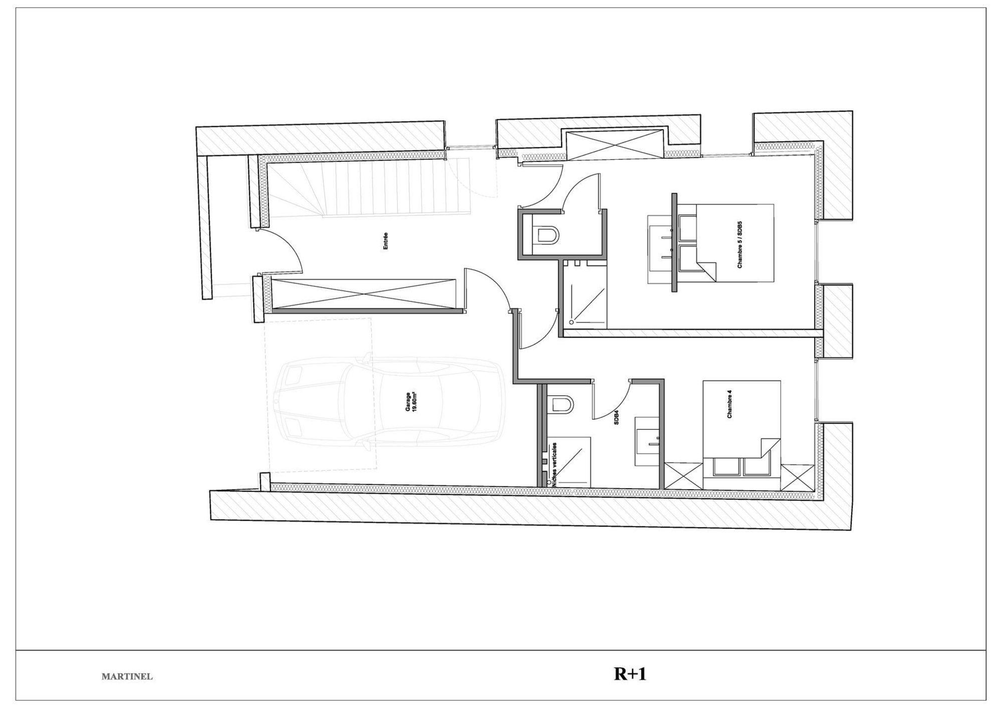 Chalet La Grange Martinel St-Martin-de-Belleville Floor Plan 2