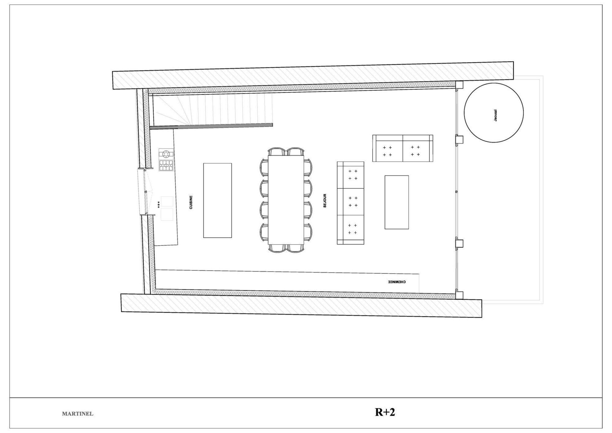 Chalet La Grange Martinel St-Martin-de-Belleville Floor Plan 3