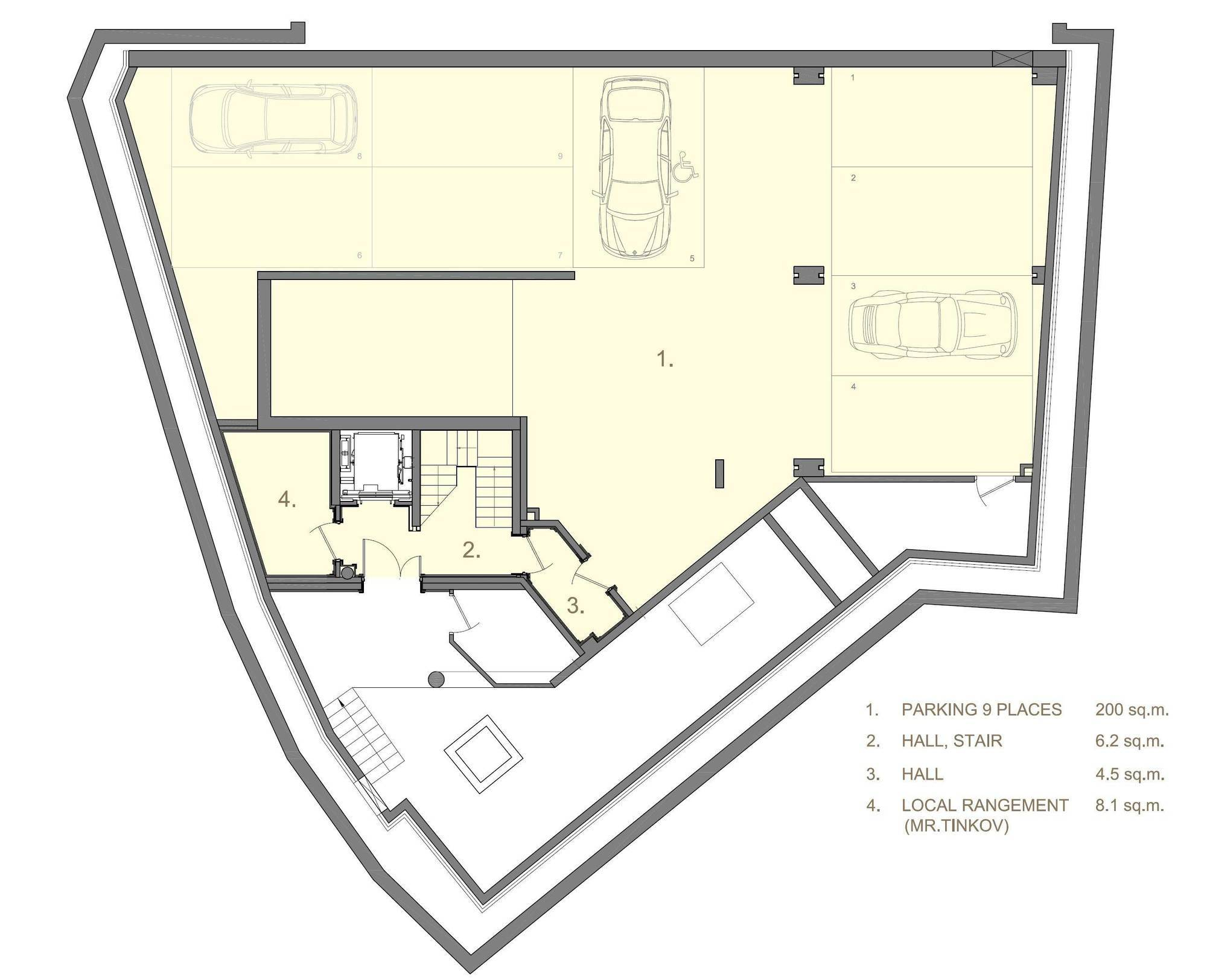 Chalet La Datcha Courchevel Floor Plan 6