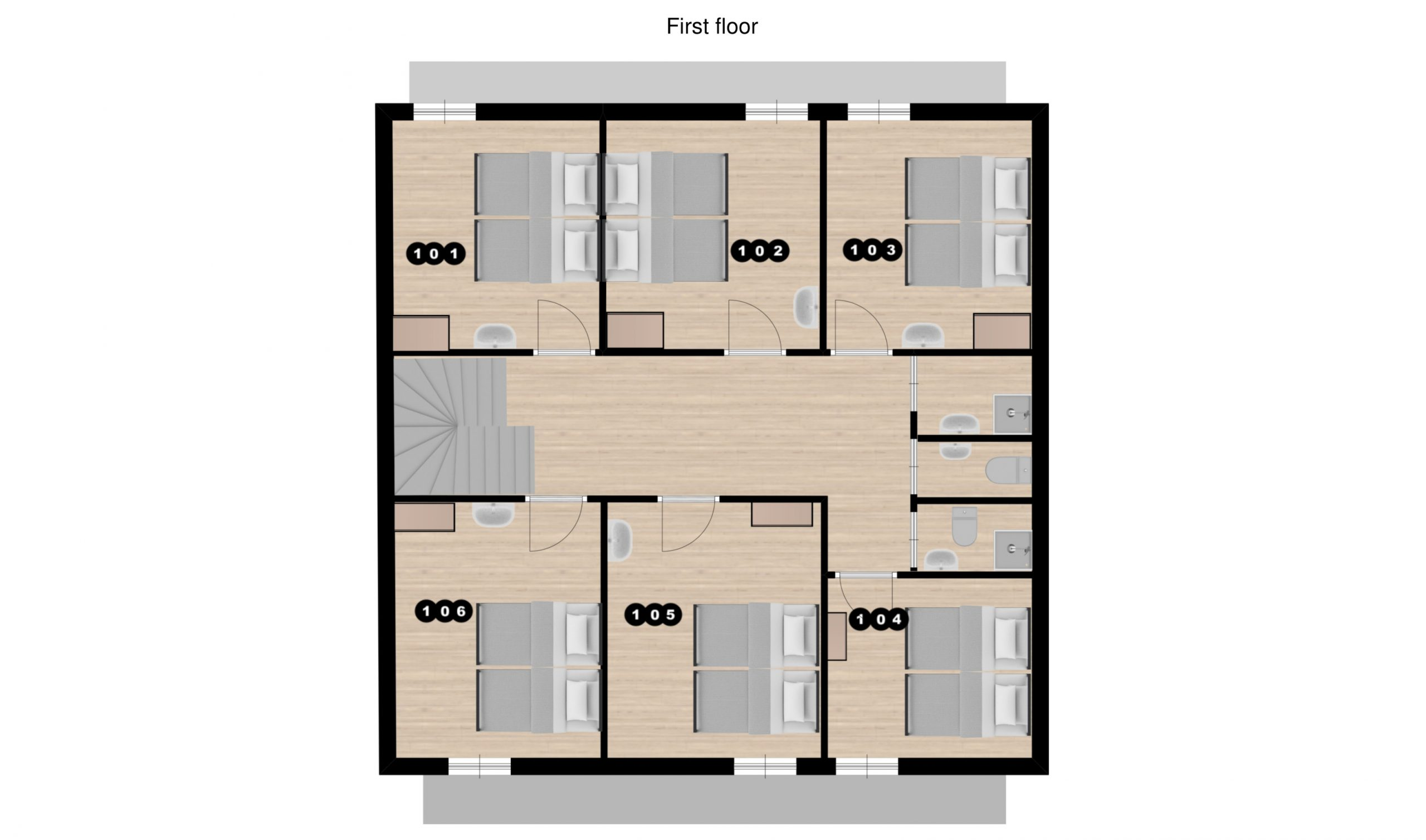 Chalet Raterhof Serfaus Floor Plan 1