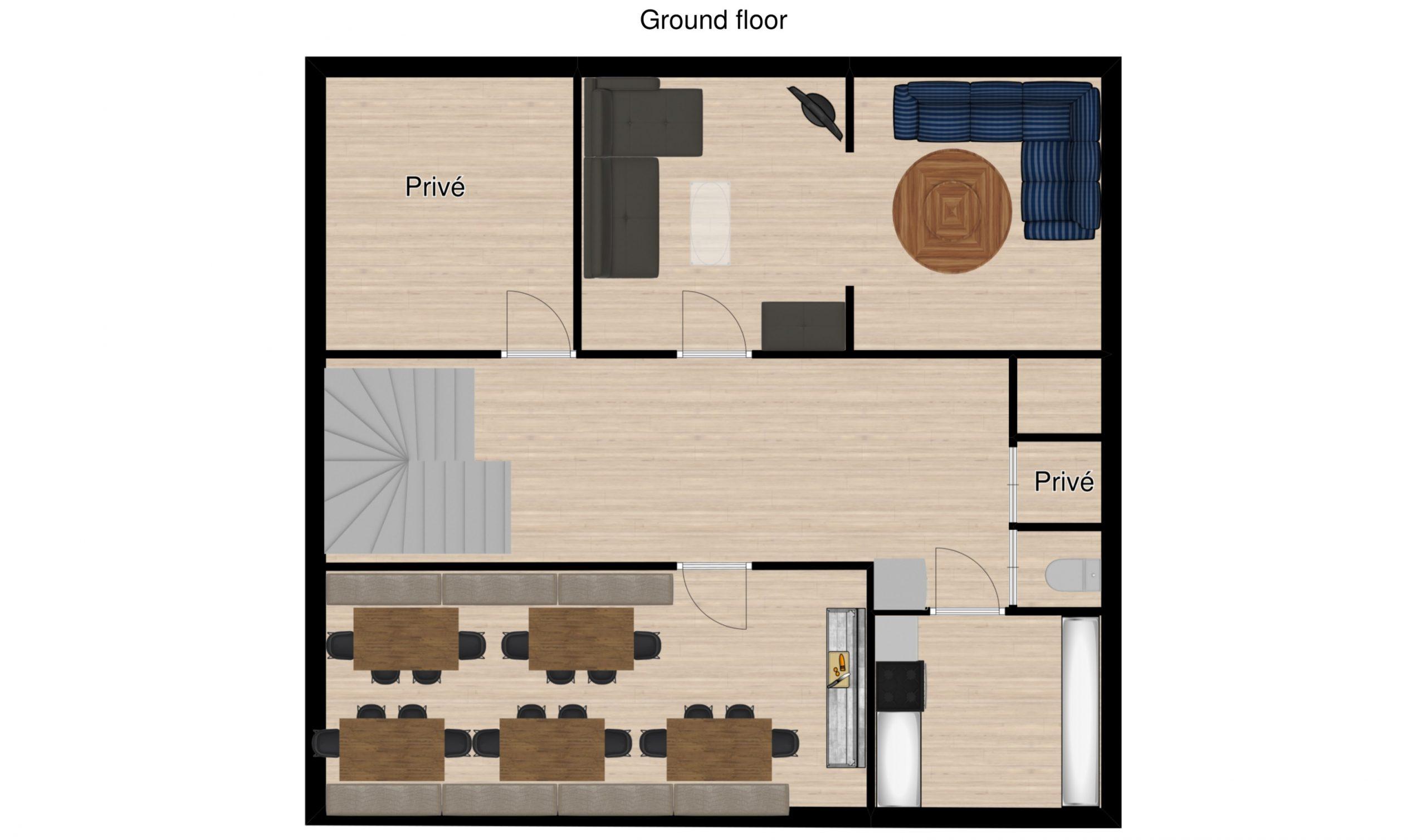 Chalet Raterhof Serfaus Floor Plan 2