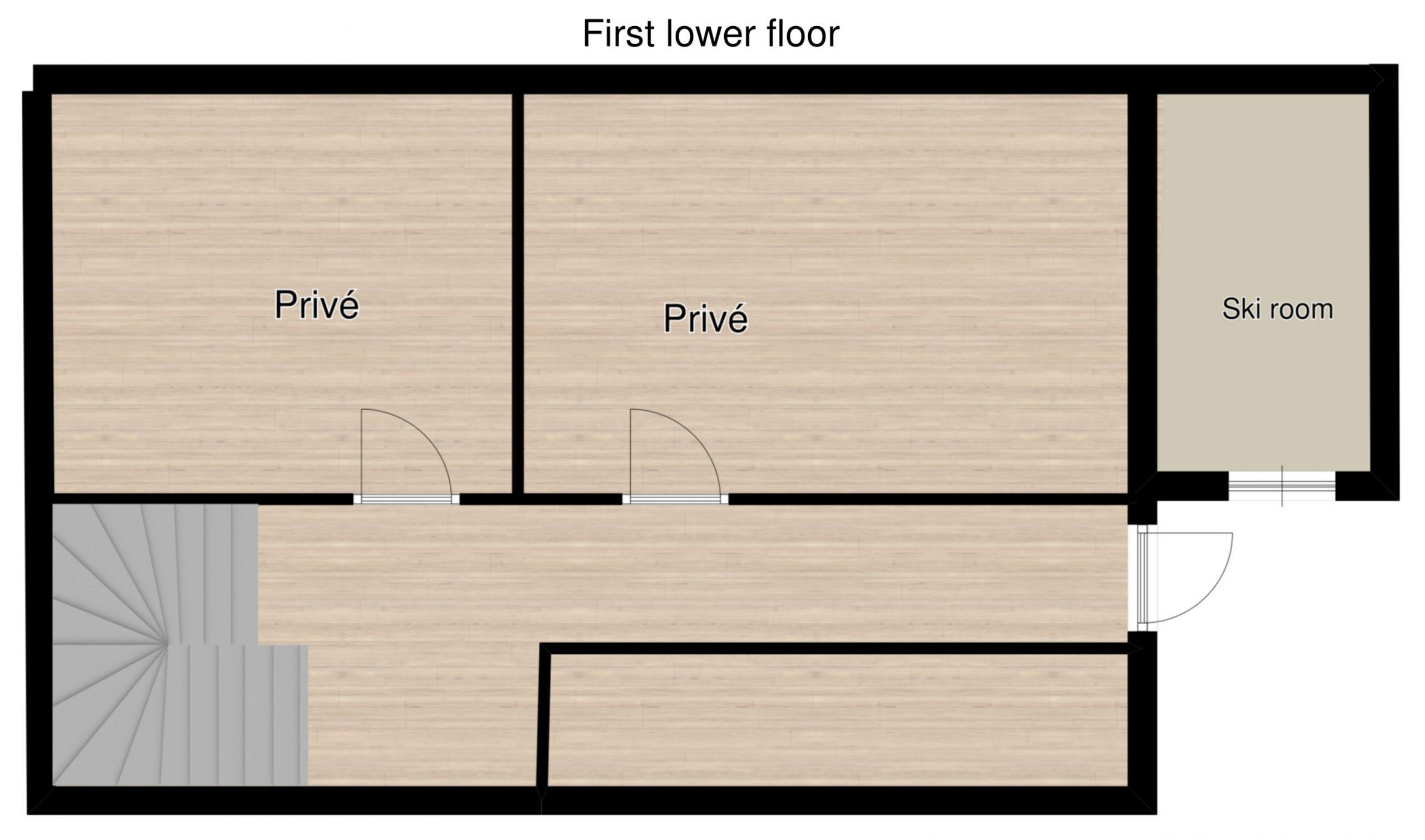 Chalet Raterhof Serfaus Floor Plan 3