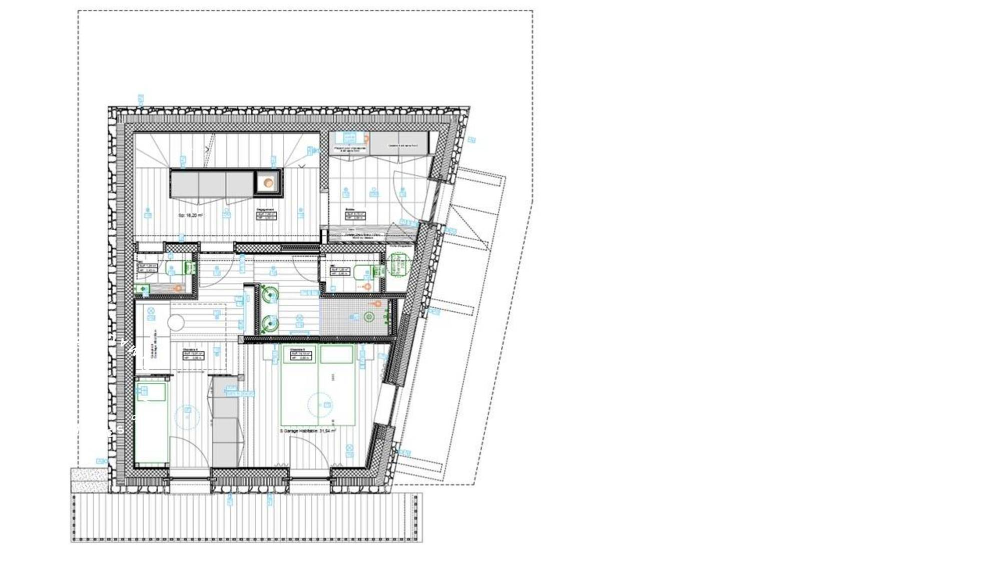 Chalet Oxalis Val d'Isere Floor Plan 1