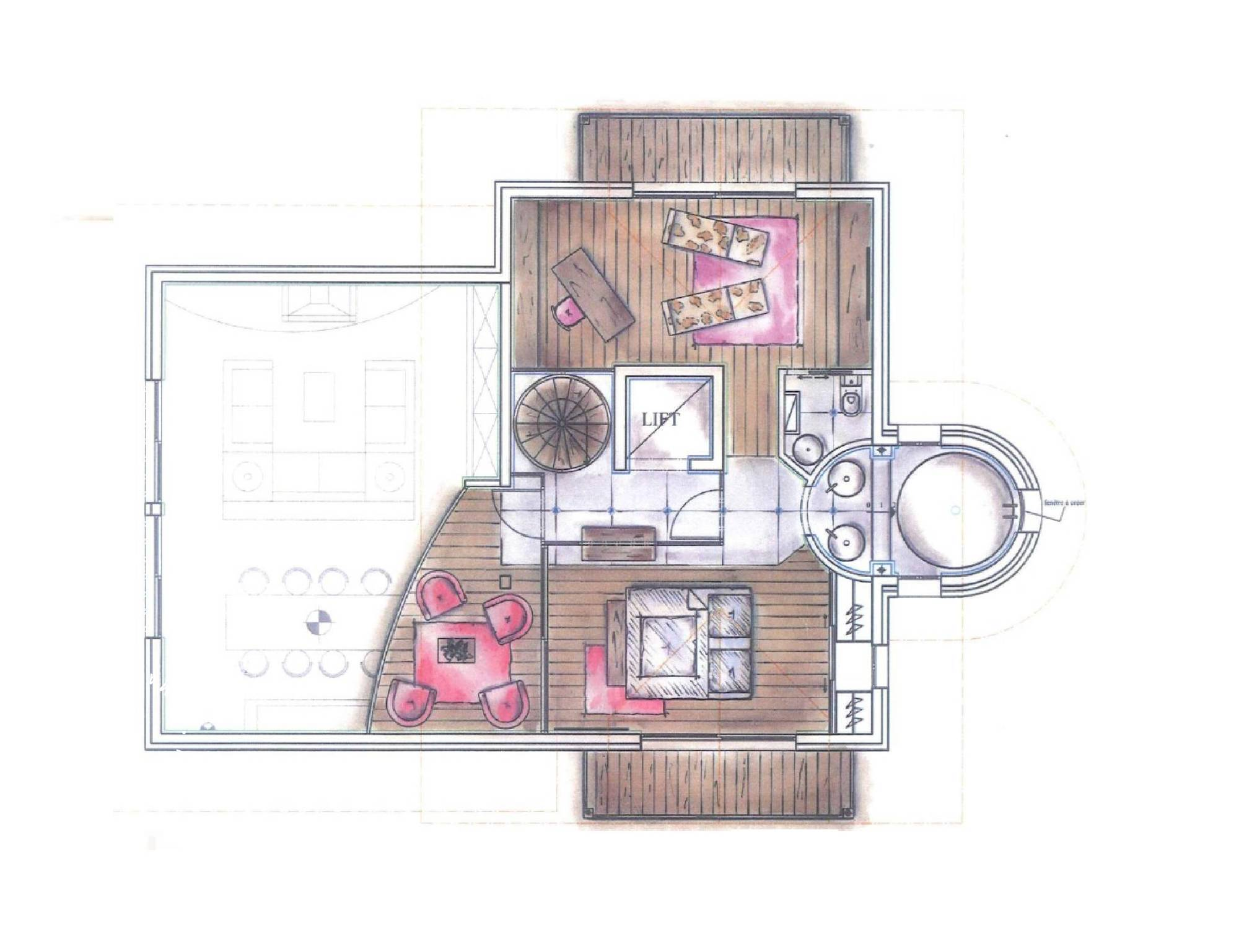 Chalet Eglantier Courchevel Floor Plan 4