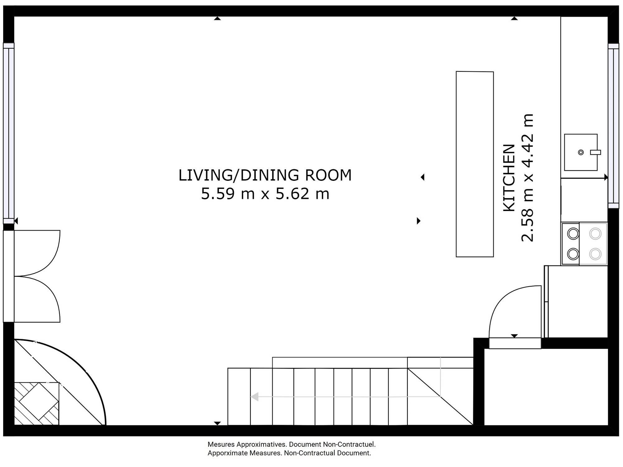 Chalet Silvretta Val d'Isere Floor Plan 2