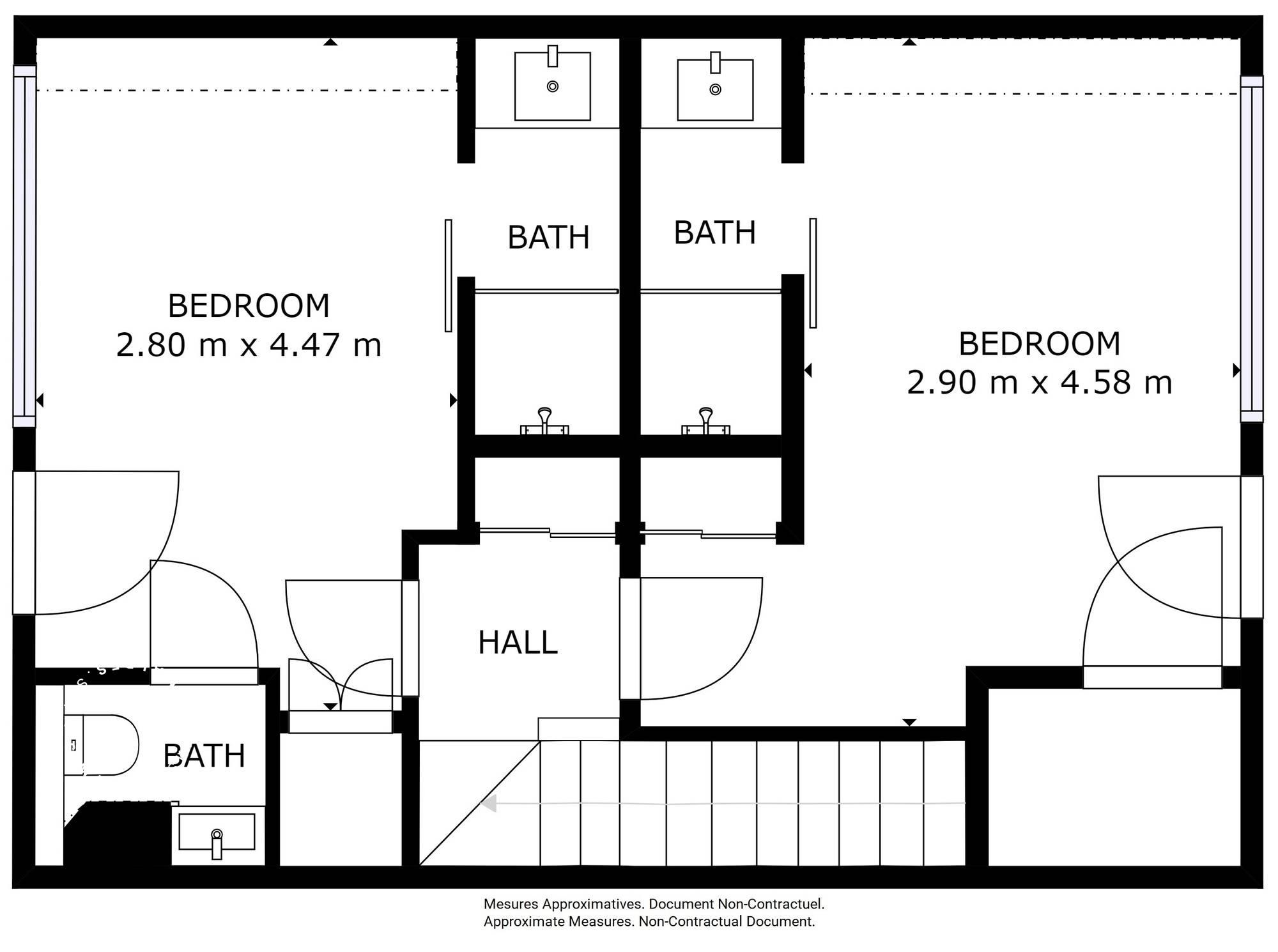 Chalet Silvretta Val d'Isere Floor Plan 3