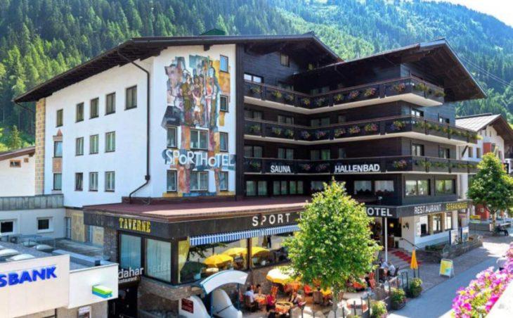 Sportshotel St Anton, austria. external