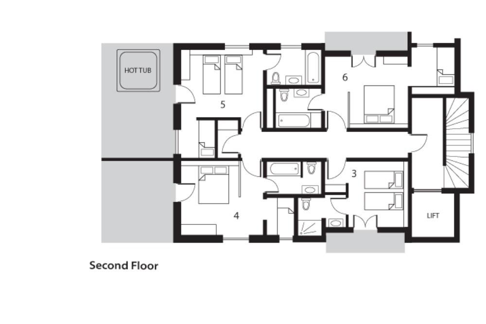 Altitude Lodge Les Gets Floor Plan 2