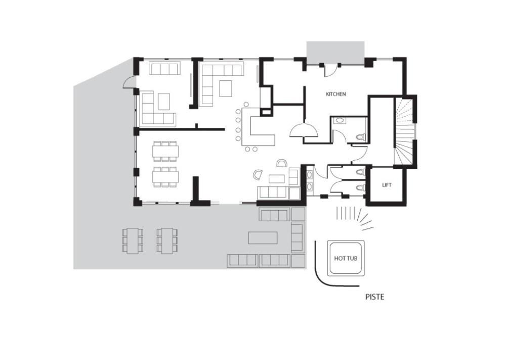 Altitude Lodge Les Gets Floor Plan 3