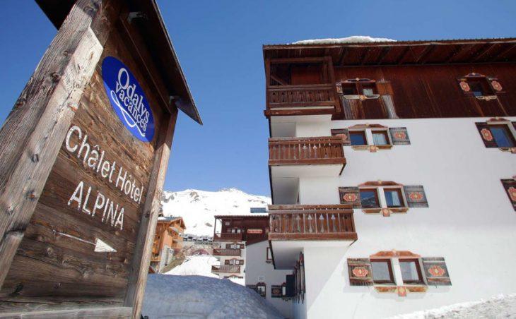 Apart'hotel Le Chalet Alpina,tignes,france.external