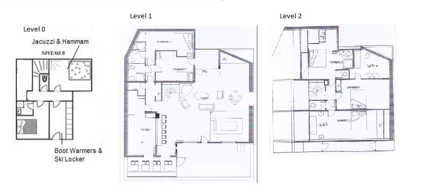 Chalet Nanouk Val d'Isere Floor Plan 1