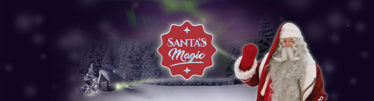 Santa's Magic Banner