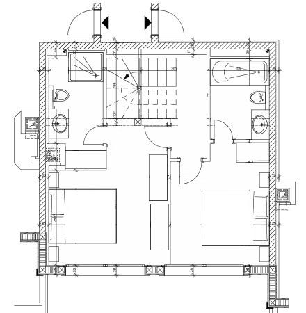 Chalet Alrou Verbier Floor Plan 1