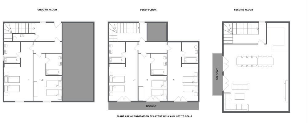 Chalet Azalee Meribel Floor Plan 1