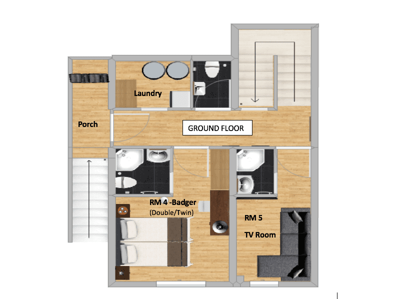 Chalet Herisson La Tania Floor Plan 4