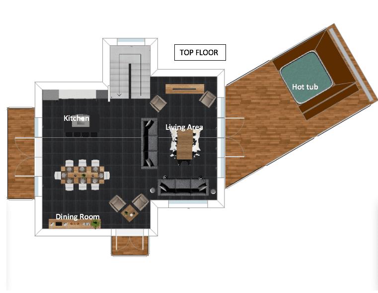 Chalet Herisson La Tania Floor Plan 2