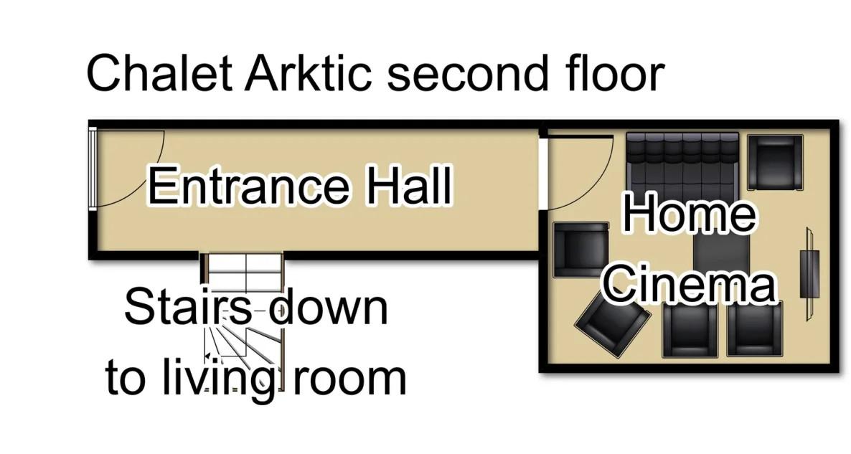 Chalet Arktic (Family) Tignes Floor Plan 3