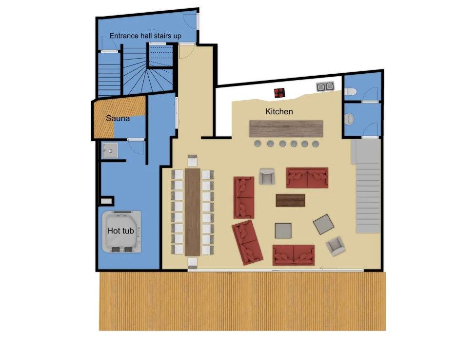 Chalet Arktic Tignes Floor Plan 3