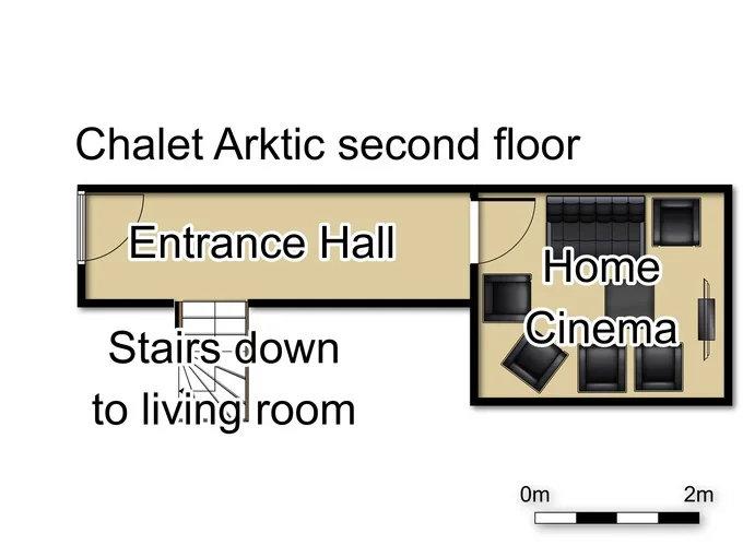 Chalet Arktic Tignes Floor Plan 2