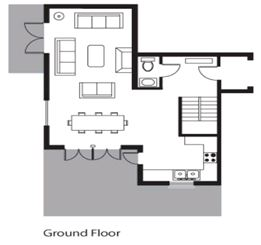 Chalet Davos (Contactless Chalet Catering) Val d'Isere Floor Plan 2