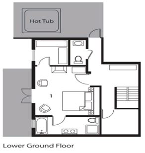 Chalet Davos (Contactless Chalet Catering) Val d'Isere Floor Plan 3