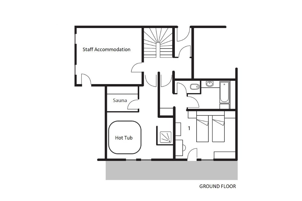 Chalet La Maison (Contactless Chalet Catering) Alpe d'Huez Floor Plan 2