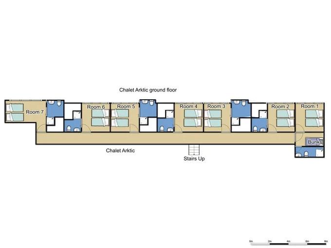 Chalet Arktic Tignes Floor Plan 1
