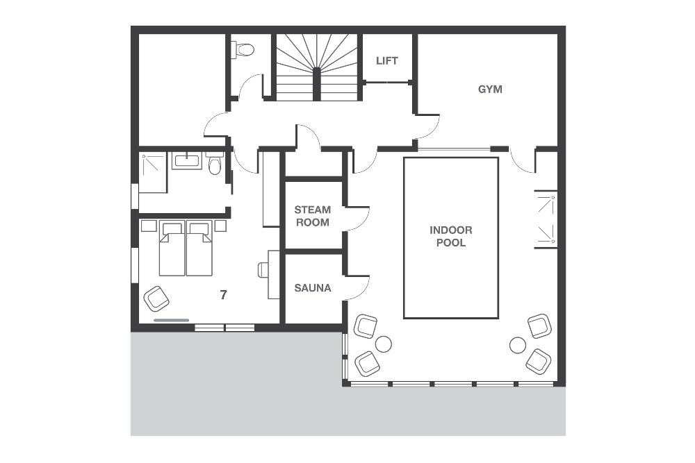 No.8 Club Bellevarde Val d'Isere Floor Plan 4