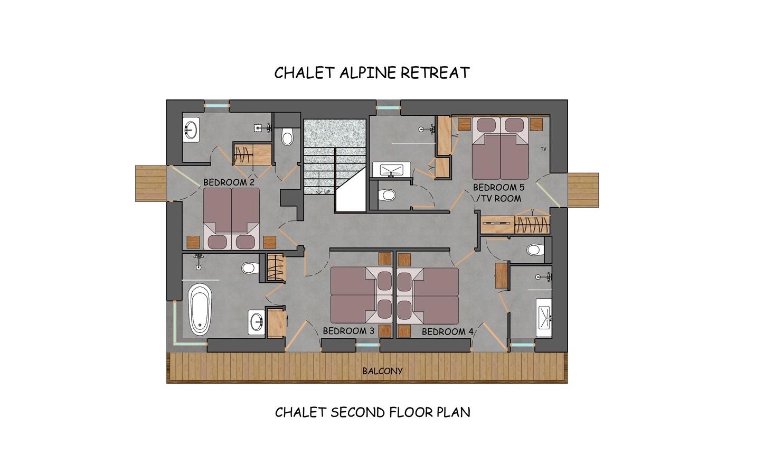 Alpine Retreat Morzine Floor Plan 3
