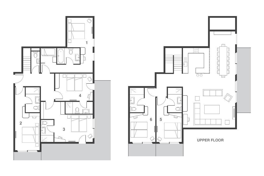 Penthouse Misha Les Arcs Floor Plan 2