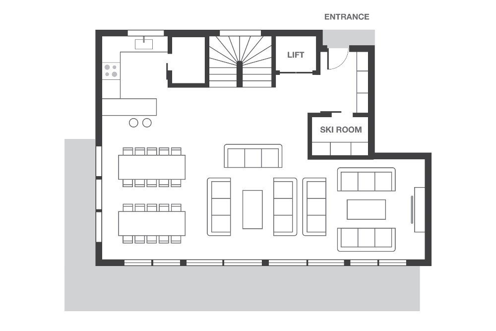 No.8 Club Bellevarde Val d'Isere Floor Plan 3