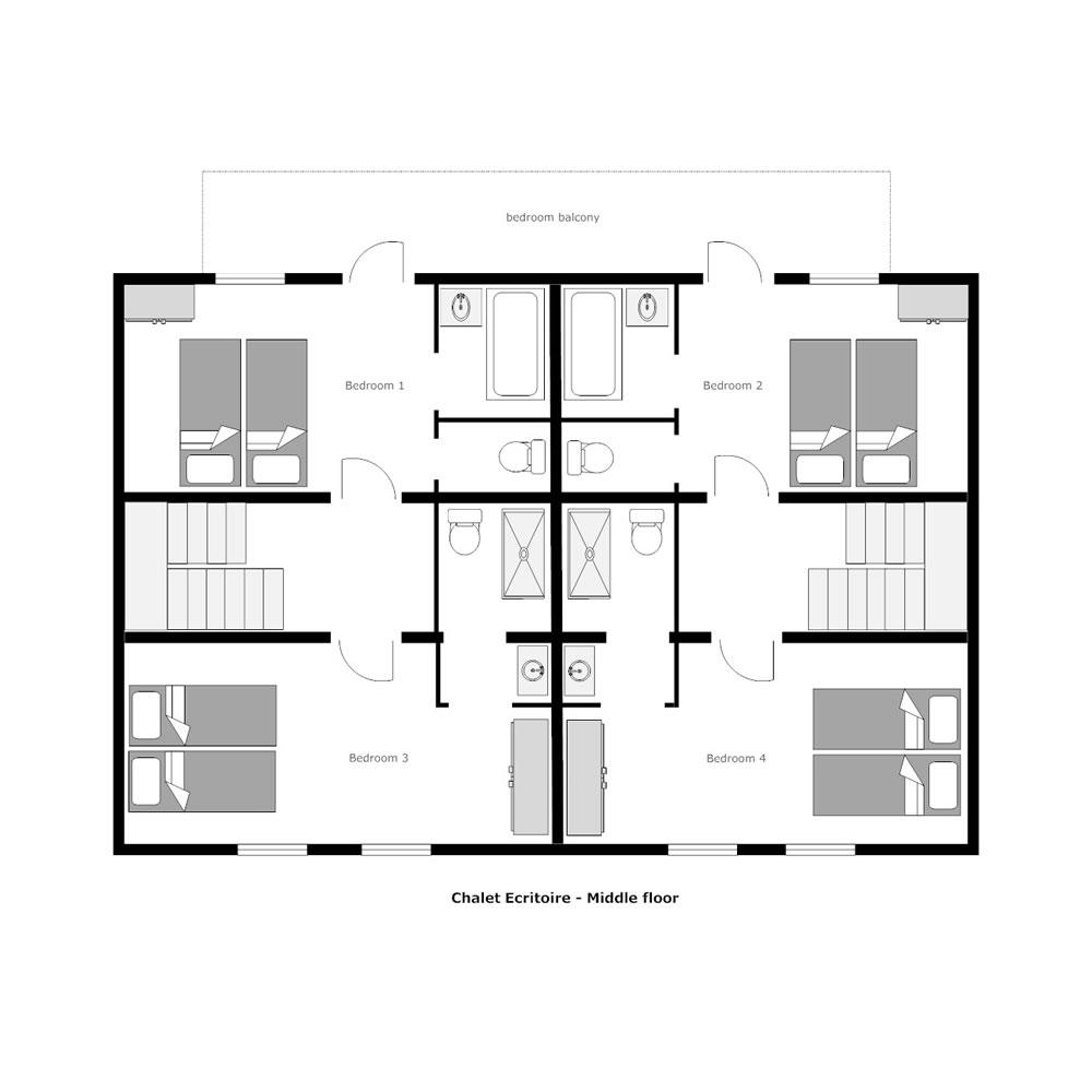 Petit 3SIXTY La Tania Floor Plan 2