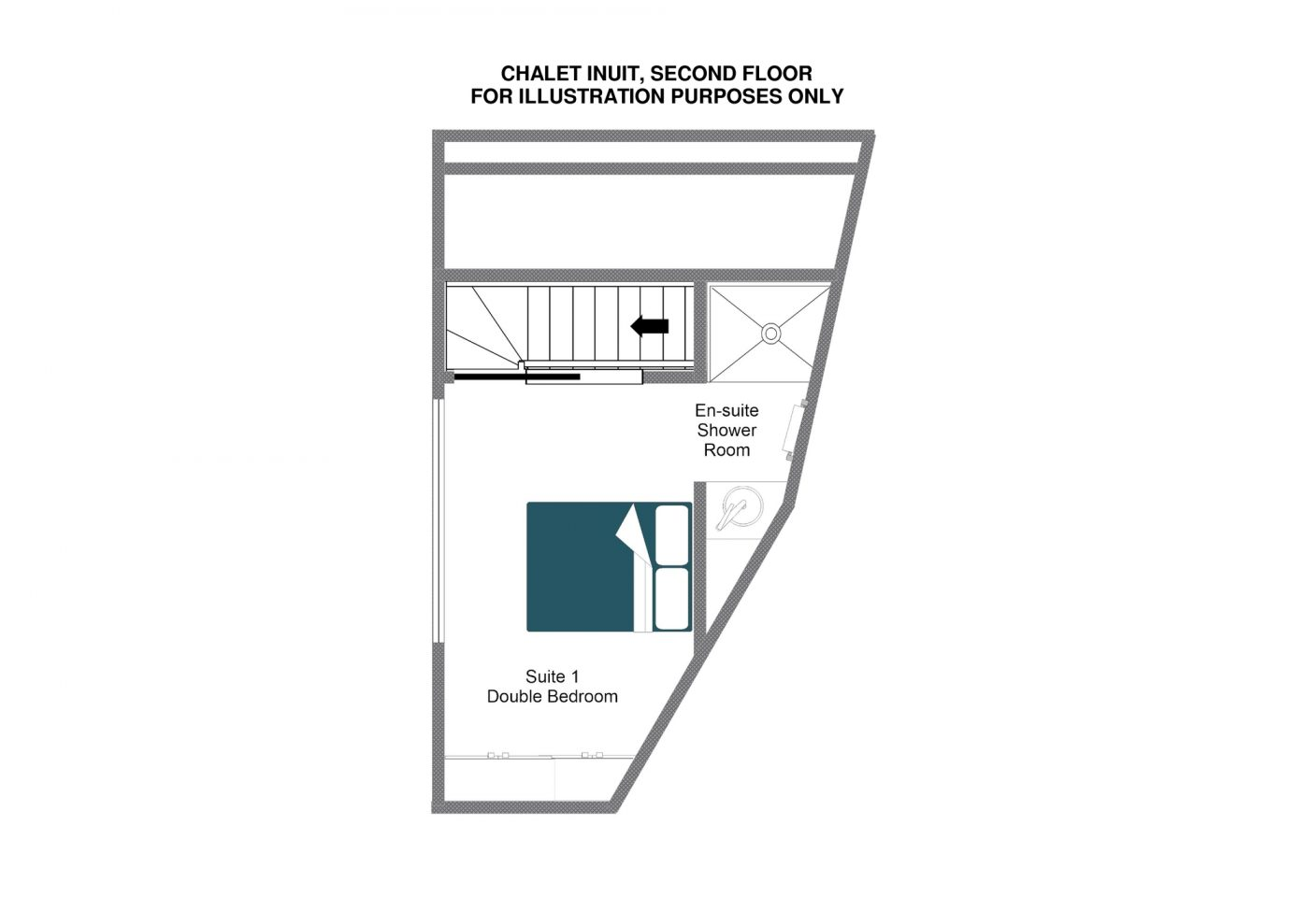 Chalet Inuit (Contactless Chalet Catering) Val d'Isere Floor Plan 4