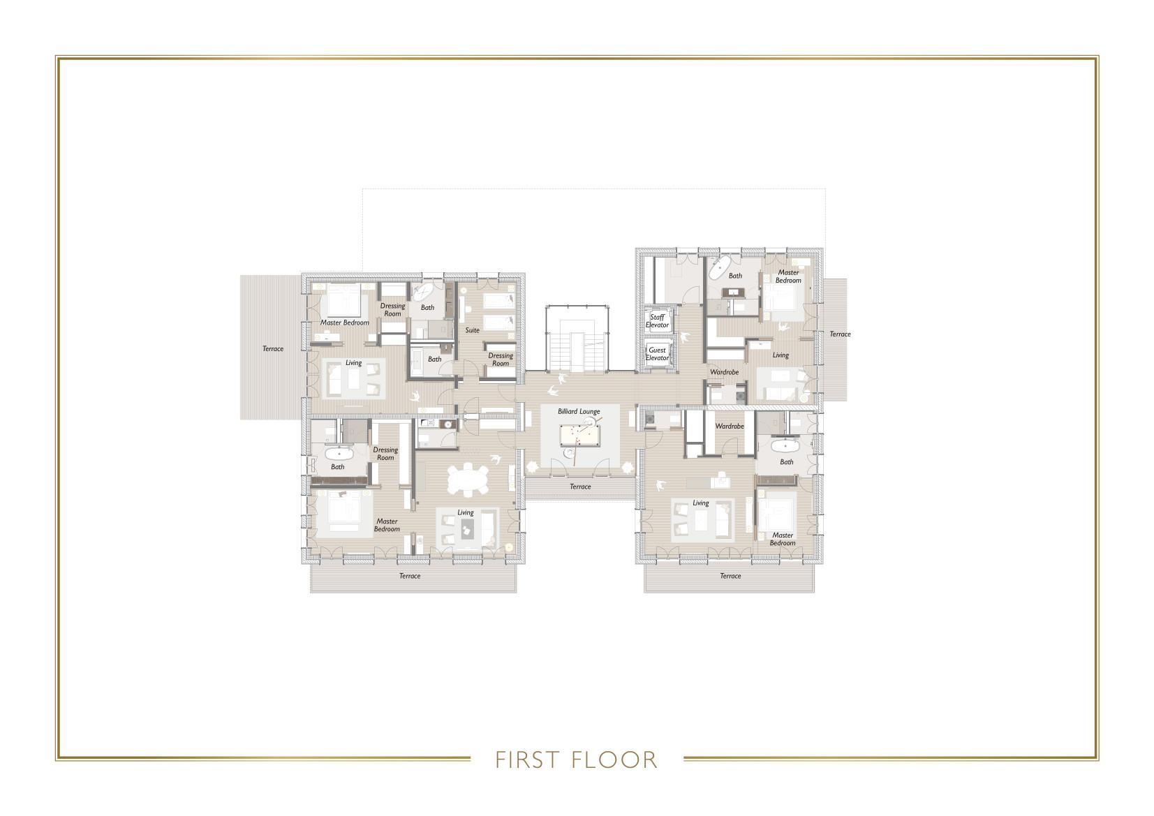 Chalet N Lech Floor Plan 2
