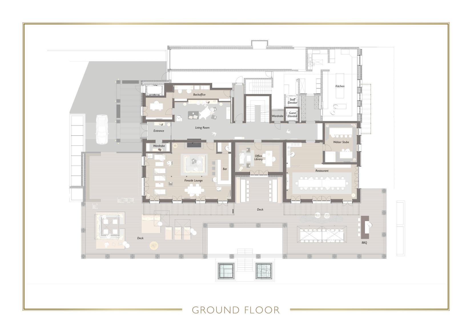 Chalet N Lech Floor Plan 1