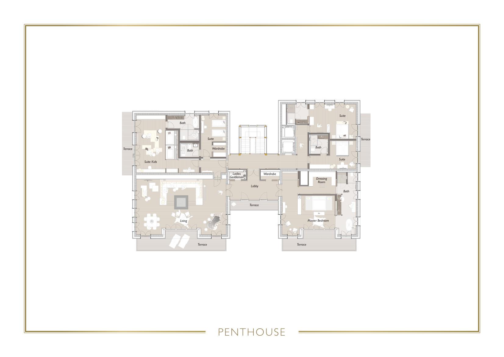 Chalet N Lech Floor Plan 3