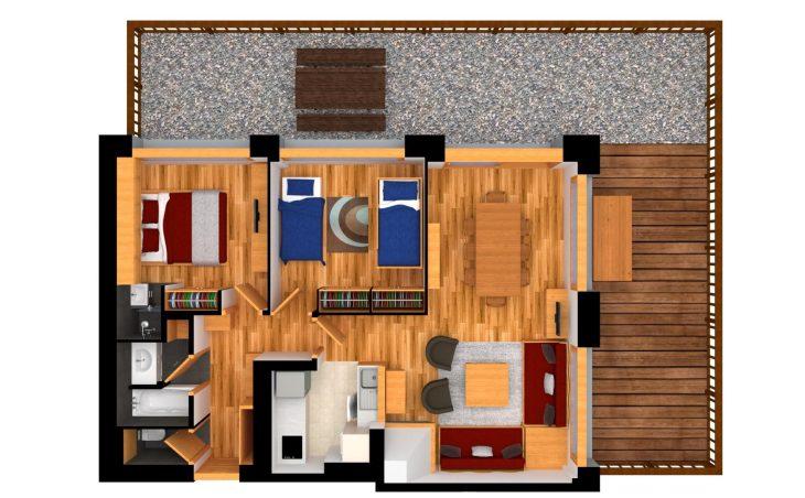 Apartments La Foret - 11