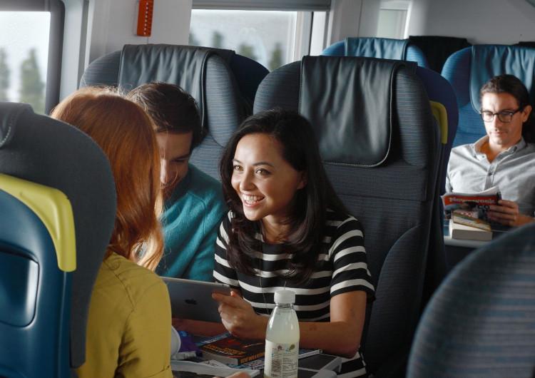 Eurostar ski-chartered train to the Alps