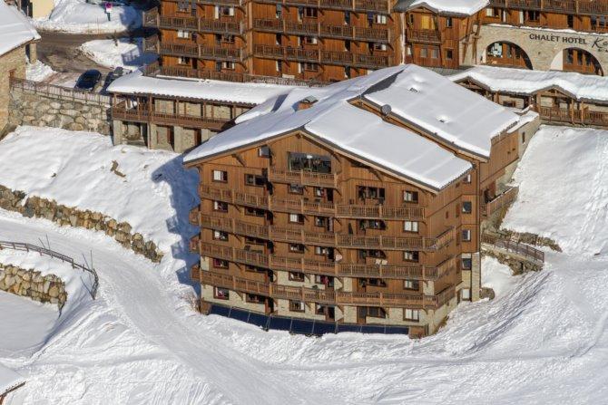 Residence CGH & SPA Les Chalets du Soleil Contemporains - 2