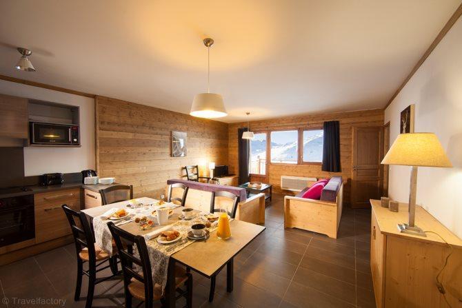 Residence CGH & SPA Les Chalets du Soleil Contemporains - 9