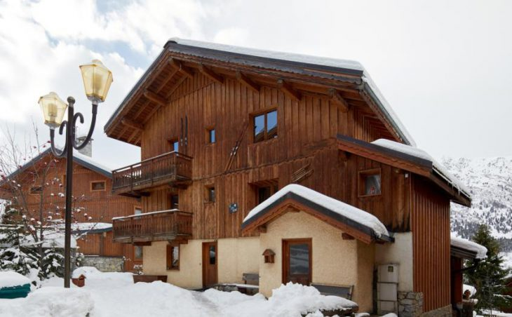 Chalet Lys Blanc in Meribel , France image 1