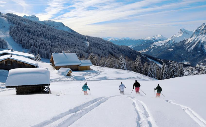 Ski Holidays Les Carroz