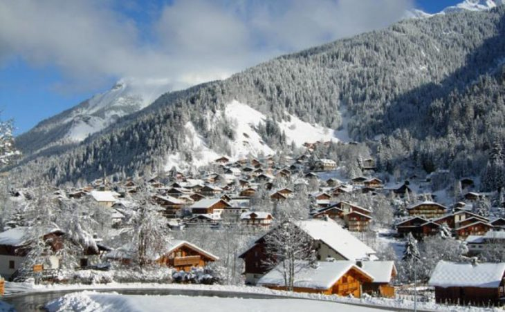 Les Contamines in mig images , France image 1