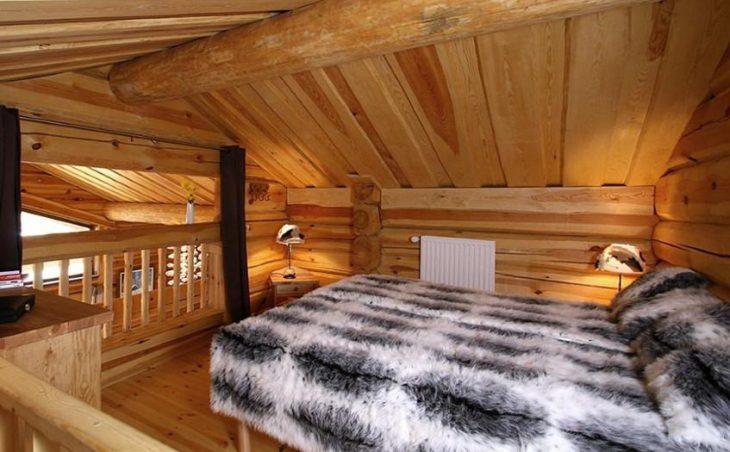 Chalet Leslie Alpen, Les Deux Alpes, Bedroom Double