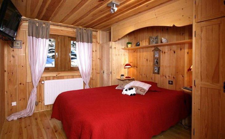 Chalet Leslie Alpen, Les Deux Alpes, Bedroom Double 2