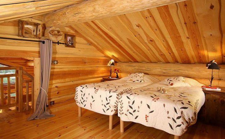 Chalet Leslie Alpen, Les Deux Alpes, Bedroom Twin