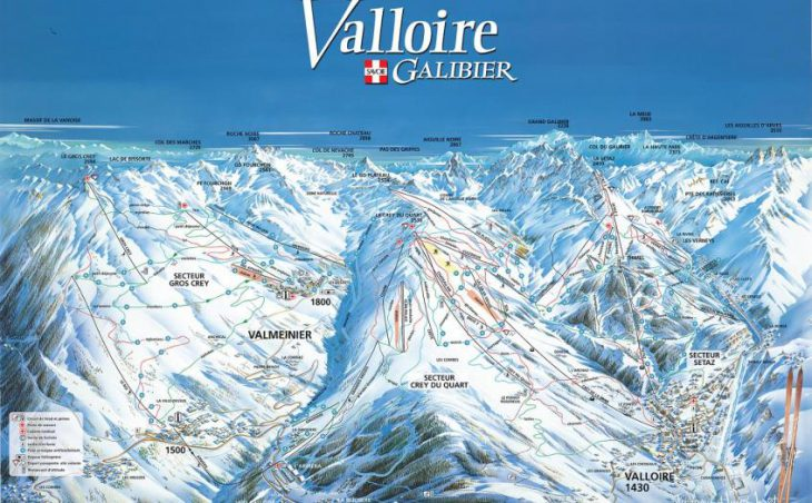 Valloire in mig images , France image 1