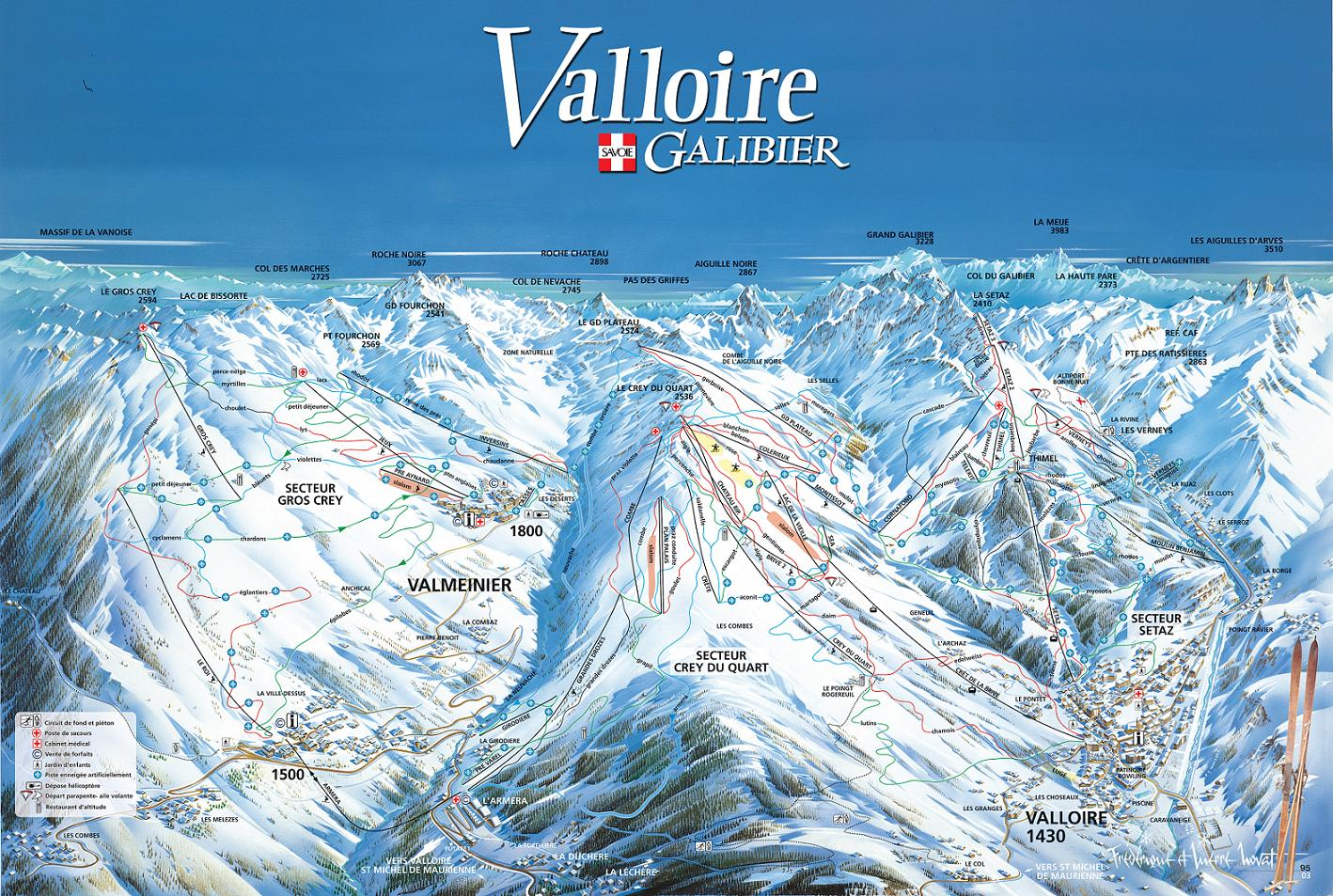 Ski Holidays Valloire