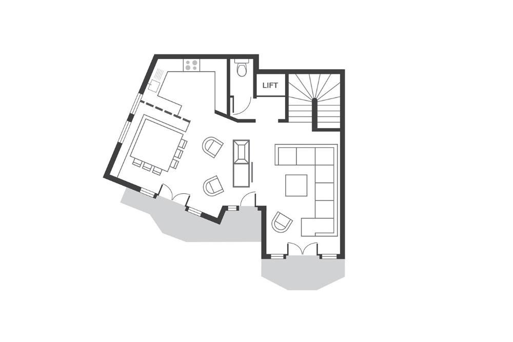 Chalet Beluga Avoriaz Floor Plan 3
